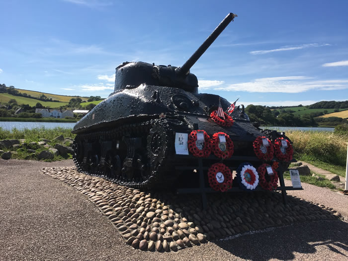 D-Day Devon - operation Tiger tour with blue badge guide viv robinson