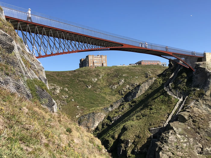 Take a tour around King Arthur's Cornwall with viv robinson, registered blue badge tour guide