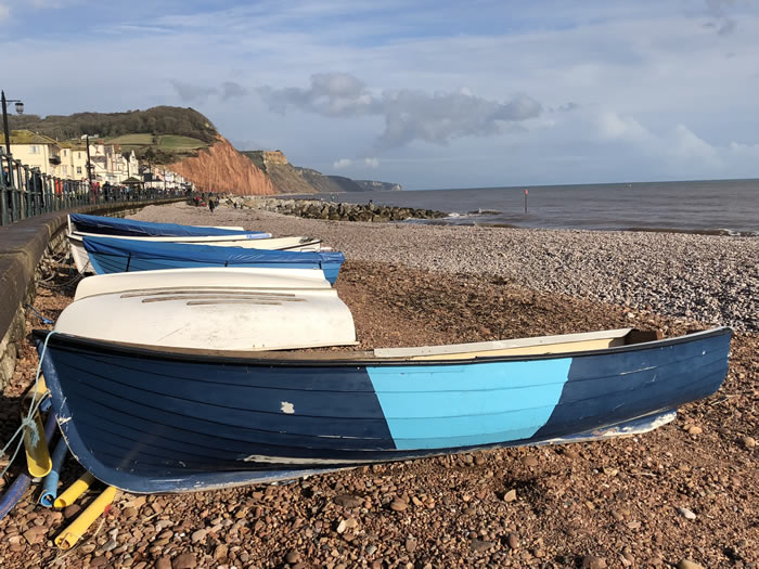 explore sidmouth with blue badge guide viv robinson