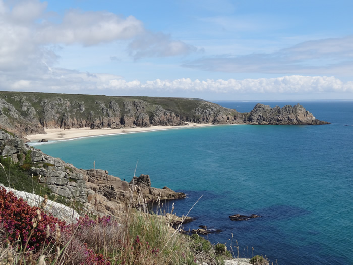 poldark film set at porthcurno