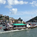 guided walks in dartmouth, devon with viv robinson registered blue badge tour guide